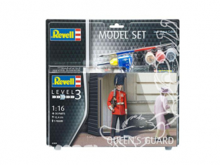 Revell figurine 62800 Model Set Queen's Guard 1/16