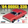 Lindberg maquette voiture 72176 Dodge 330 1/25