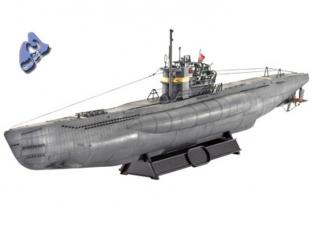 Revell maquette Bateau 05100 U Boat Type VII 1/144