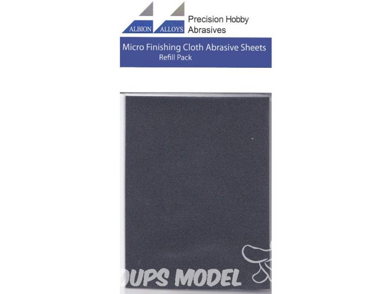 Alpha abrasives 2065 2 feuilles de polissage 4000 grit