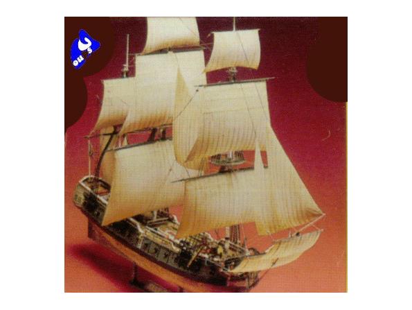 Lindberg maquette bateaux 70874 Bateau pirate jolly roger