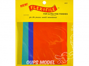 FLEX-I-FILE ff802 Feuilles abrasives pour finitions ultra fines
