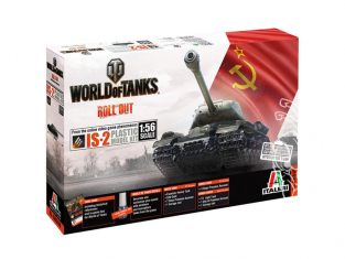 Italeri maquette militaire 56506 World of Tanks IS-2 1/56 28mm