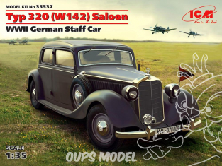 Icm maquette militaire 35537 Mercedes Benz Type 320 (W142) German Staff Car WWII 1/35