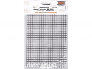 maquett 820-15 grillage inox 6mm plaque de 140x200mm