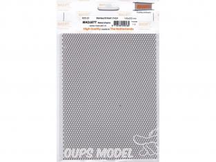 maquett 820-23 grillage inox 1,7x3,5mm plaque de 140x200mm