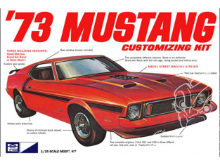 MPC maquette voiture 846 1973 Ford Mustang 1/25