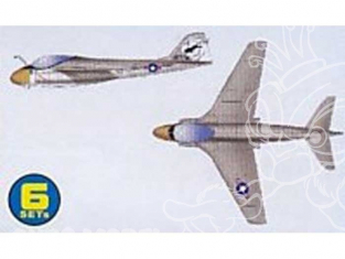 Trumpeter maquette avion 06224 SET DE 6 AVIONS A-6E INTRUDER 1/350