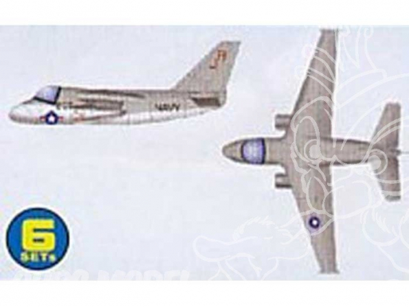 Trumpeter maquette avion 06226 SET DE 6 AVIONS S-3B VIKING 1/350