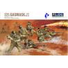 Fujimi maquette militaire 76028 Infanterie Allemande Gasmask 1/7
