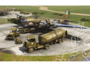 Airfix maquette avion 12010 8em Air Force Boeing B-17 et ensemble de réapprovisionnement de bombardiers 1/72