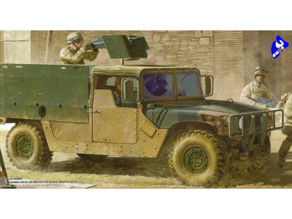 Academy maquette militaire 13405 M998 I.E.D Gun Truck 1/35