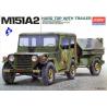 Academy maquette militaire 13012 M151A2 avec remorque 1/35
