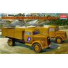 Academy maquette militaire 13404 German Cargo truck Set-5 1/72