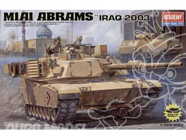 Academy maquette militaire 13202 M1A1 Abrams 1/35