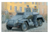 Bronco maquette militaire CB 35095 Sd.Kfz.247 Ausf A VEHICULE BLINDE ALLEMAND 1938 1/35