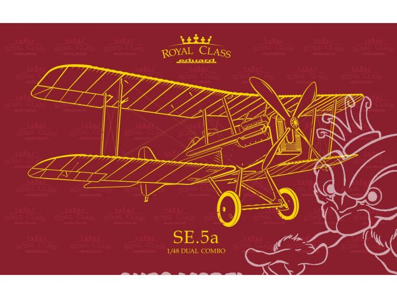 EDUARD maquette avion R0015 SE.5a Dual combo Royal Class 1/48