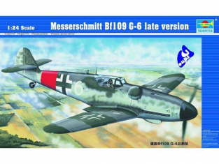 TRUMPETER 02408 MESSERSCHMITT Bf 109 G-6 1/24