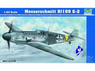 TRUMPETER 02406 MESSERSCHMITT Bf 109 G-2 1/24