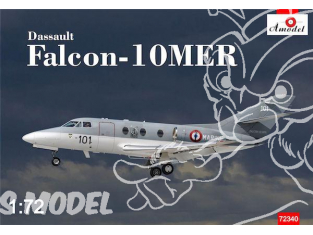 Amodel maquettes avion 72340 DASSAULT FALCON-10MER MARINE NATIONALE 1985 1/72