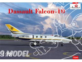 Amodel maquettes avion 72245 DASSAULT FALCON 10 1980 1/72