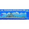 trumpeter maquette bateau 05705 CUIRASSE U.S. BB-63 MISSOURI 1/7