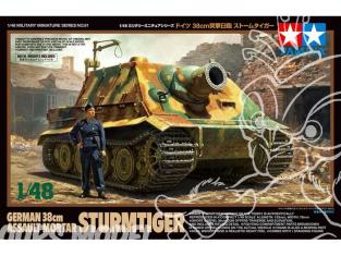 TAMIYA maquette militaire 32591 Canon d'Assaut 38cm Allemand Sturmtiger 1/48