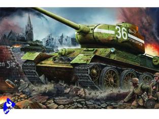 "Trumpeter maquette militaire 00902 T-34/85 "" USINE N0 183"" 1944"