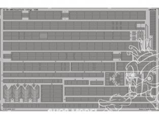 Eduard photodecoupe 53189 HMS Hood Partie 3 Rambardes Trumpeter 1/200