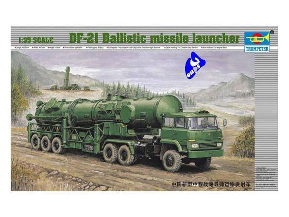 Trumpeter maquette militaire 00202 LANCE MISSILE BALISTIQUE CHIN