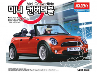 Academy maquette voiture 15104 Mini convertible 1/24