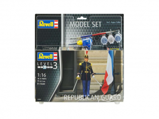Revell figurine 62803 Model Set Garde républicaine (France) 1/16