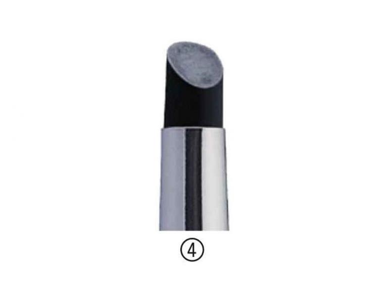 AMI Pinceau Silicone Colour Shapers 73311 noir dur Taille 2 Forme concave
