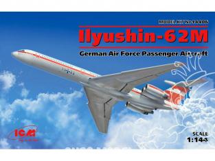 Icm maquette avion 14406 Ilyushin IL-62M 1/144
