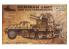 GREAT WALL HOBBY maquette militaire L3525 SEMI CHENILLE LOURD ALLEMAND sWS avec CANON ANTI AERIEN 1/35