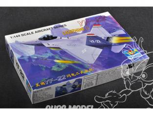 Trumpeter maquette avion 01331 Lockheed YF-22 LIGHTNINGⅡ 1/144