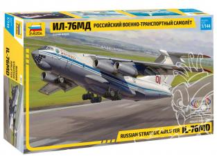 Zvezda maquette avion 7011 Iliouchine Il-76MD 1/144