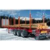 ITALERI maquette camion 3868 Remorque semi porte grumes 1/24