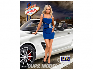 Master Box personnages 24020 Sloan - Vegas Baby - Serie Courbes dangereuses 1/24