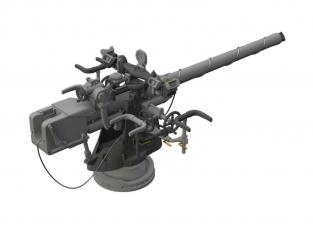Eduard kit d'amelioration bateau brassin 648327 Canon 8,8cm Sous-marin Allemand U-boat Trumpeter 1/48