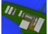 Eduard kit d'amelioration brassin 672154 Baies de gun Spitfire Mk.VIII Eduard 1/72