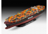 revell maquette bateau 05152 Porte container COLOMBO EXPRESS 1/700