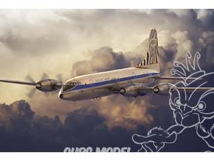 Roden maquette avion 326 BRISTOL 175 BRITANNIA - AFRICAN SAFARI 1/144