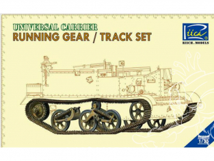 Riich Models maquette militaire 30015 ENSEMBLE TRAIN DE ROULEMENT et CHENILLES pour UNIVERSAL CARRIER 1/35