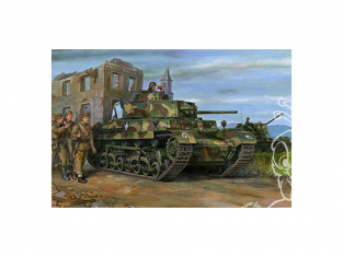 Bronco maquette militaire CB35120 40.M TURAN I CHAR MOYEN HONGROIS 1943 1/35
