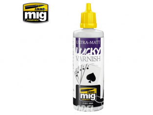 MIG Lucky Varnish 2050 Vernis Ultra Mat 60ml