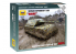 Zvezda maquette militaire 6213 Char Allemand Maus snap kit 1/100