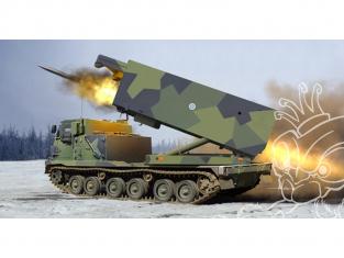 Trumpeter maquette militaire 01047 US M270/A1 SYSTEME LANCE-ROQUETTES ARMÉES FINLANDAISE et DES PAYS-BAS 2010 1/35