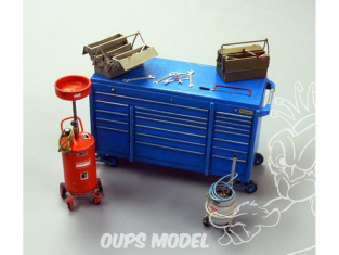 Plus Model Diorama 497 Ensemble de garage 1/35