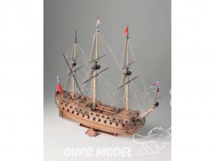 Corel bateaux bois SM58 H.M.S. Neptune Vaisseau de 50 canons fin 18e siècle 1/90